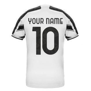 2020-2021 Juventus Adidas Home Football Shirt (Your Name)