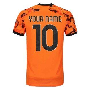 2020-2021 Juventus Adidas Third Shirt (Kids) (Your Name)