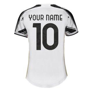 2020-2021 Juventus Adidas Home Womens Shirt (Your Name)