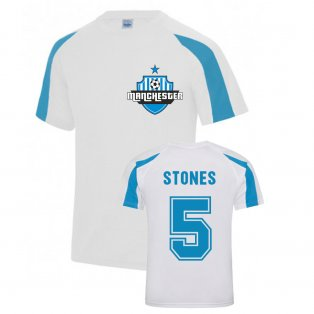 John Stones Manchester City Sports Training Jersey (White)