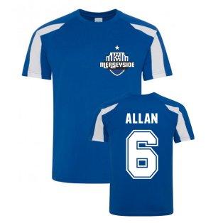 Allan Everton Sports Training Jersey (Blue)