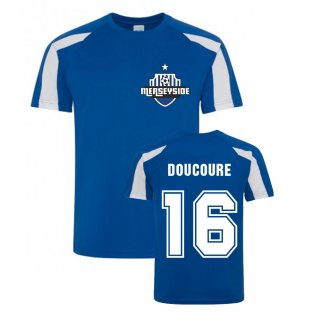 Abdoulaye Doucoure Everton Sports Training Jersey (Blue)