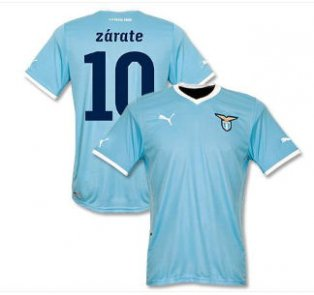 2011-12 Lazio Puma Home Shirt (Zarate 10)