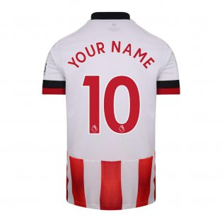2020-2021 Sheffield United Adidas Home Football Shirt (Your Name)