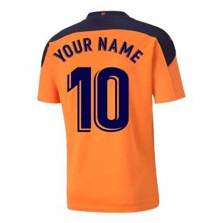 2020-2021 Valencia Away Shirt (Your Name)