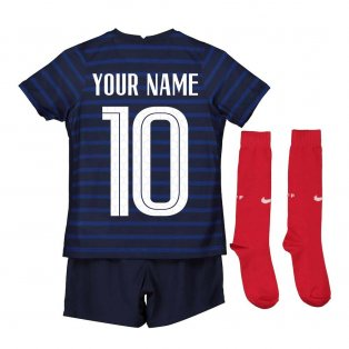 2020-2021 France Home Nike Mini Kit (Your Name)