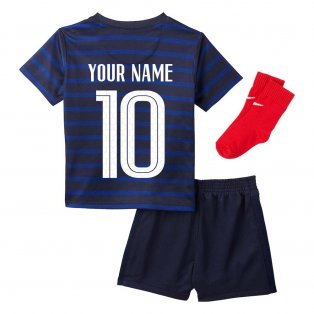 2020-2021 France Home Nike Baby Kit (Your Name)