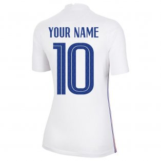 2020-2021 France Away Nike Womens Shirt (Your Name)
