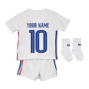 2020-2021 France Away Nike Baby Kit (Your Name)