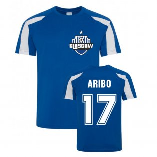 Joe Aribo Rangers Sports Training Jersey (Blue)