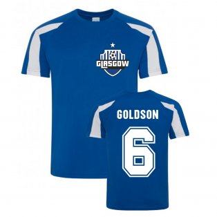 Connor Goldson Rangers Sports Training Jersey (Blue)