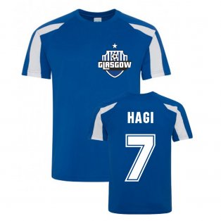 Ianis Hagi Rangers Sports Training Jersey (Blue)