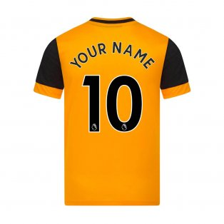 2020-2021 Wolves Home Football Shirt (Your Name)