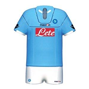 Napoli SSC Shirt Shape Optical Mouse