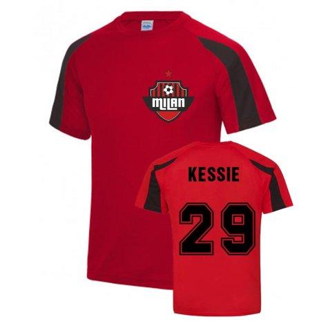 Franck Kessie AC Milan Sport Training Jersey (Red)