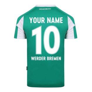 2020-2021 Werder Bremen Home Shirt (Your Name)