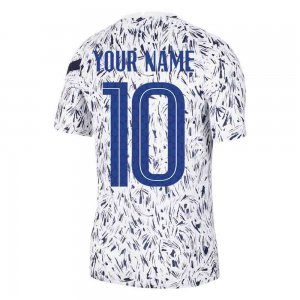 2020-2021 France Nike Dry Pre-Match Training Shirt (White)