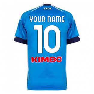 2020-2021 Napoli Home Shirt (Your Name)