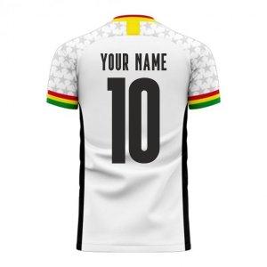 Ghana 2020-2021 Home Concept Football Kit (Libero)