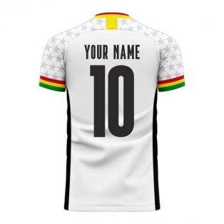 Ghana 2020-2021 Home Concept Football Kit (Libero) (Your Name)