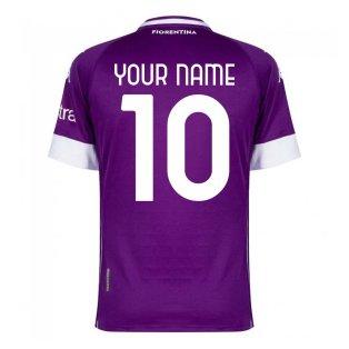 2020-2021 Fiorentina Home Shirt (Your Name)