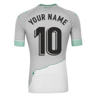 2020-2021 Real Betis Third Shirt (Your Name)