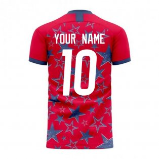 USA 2020-2021 Third Concept Football Kit (Libero) (Your Name)
