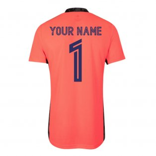 2020-2021 Real Madrid Away Goalkeeper Shirt (Your Name)