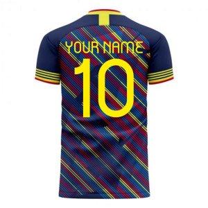 Colombia 2020-2021 Third Concept Football Kit (Libero)