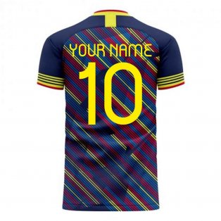 Colombia 2020-2021 Third Concept Football Kit (Libero) (Your Name)