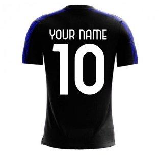 Nerazzurri Milan 2020-2021 Home Concept Football Kit (Libero) (Your Name)