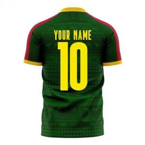 Cameroon 2020-2021 Home Concept Football Kit (Libero)