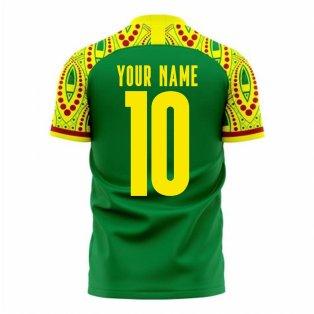 Senegal 2020-2021 Away Concept Football Kit (Libero) (Your Name)