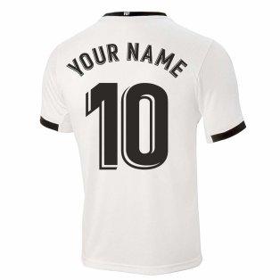 2020-2021 Valencia Home Shirt (Kids) (Your Name)