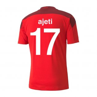 2020-2021 Switzerland Home Puma Football Shirt (AJETI 17)