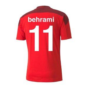 2020-2021 Switzerland Home Puma Football Shirt (BEHRAMI 11)