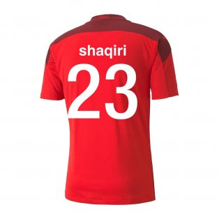 2020-2021 Switzerland Home Puma Football Shirt (SHAQIRI 23)