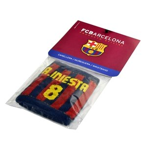 Barcelona Player Wristband (Iniesta)