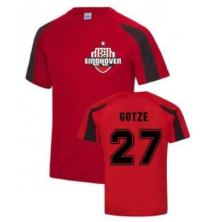 Mario Gotze Eindhoven Sports Training Jersey (Red)