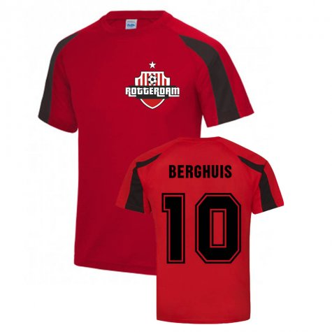 Steven Berghuis Feyenoord Sports Training Jersey (Red)