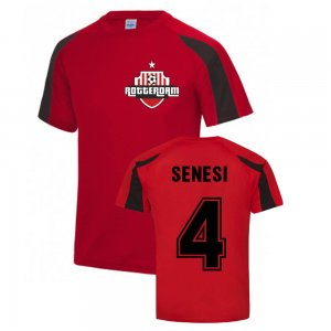 Marcos Senesi Feyenoord Sports Training Jersey (Red)