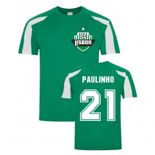 Paulinho Lisbon Sports Training Jersey (Green)