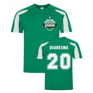 Ricardo Quaresma Lisbon Sports Training Jersey (Green)