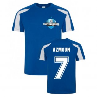 Sardar Azmoun Zenit Sports Training Jersey (Blue)