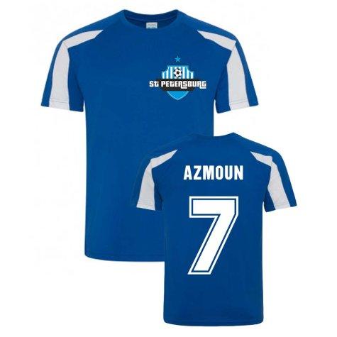 Sardar Azmoun Zenit Sports Training Jersey (Blue)