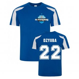 Artem Dzyuba Zenit Sports Training Jersey (Blue)
