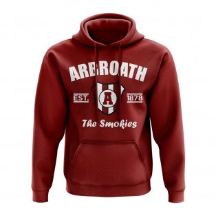 Arbroath Established Hoody (Maroon)
