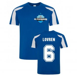Dejan Lovren Zenit Sports Training Jersey (Blue)