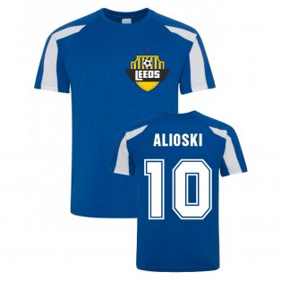 Ezgjan Alioski Leeds Sports Training Jersey (Blue)