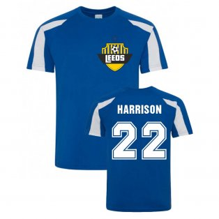 Jack Harrison Leeds Sports Training Jersey (Blue)